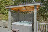 Private Hot Tub 4 Bedroom Cabin Sleeps 8