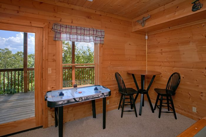Cabin with Game Room and Air Hockey - Lasting Impression