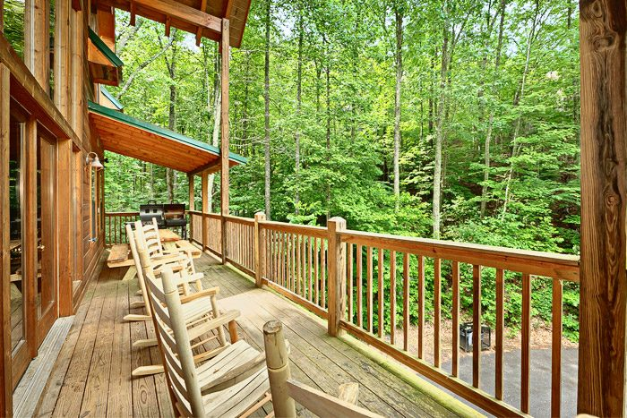 Large Deck with Sitting Area - Laurel Cove