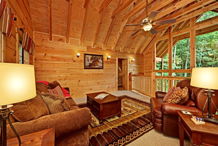 Cabin with Extra Lounge Area - Laurel Cove