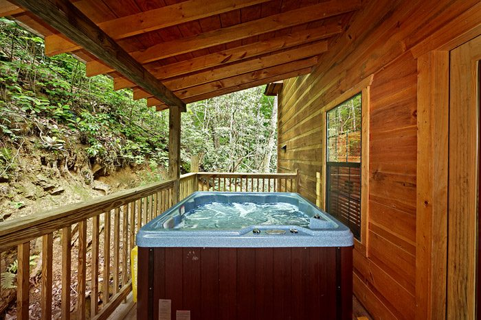 Cabin with Private Hot Tub - Laurel Cove