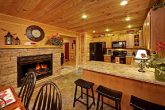 Awesome Kitchen with Two Sided Gas Fireplace