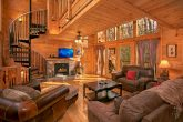 3 Bedroom Gatlinburg Cabin with Fireplace