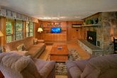6 Bedroom Cabin with Living Room & Fireplace