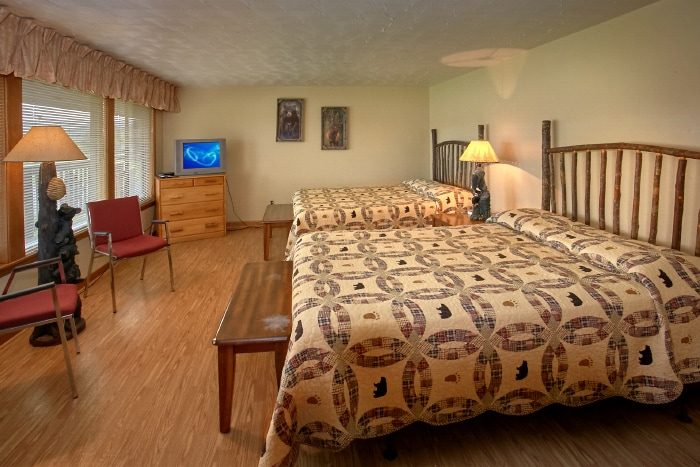 bedroom cabin rental in the smoky mountains