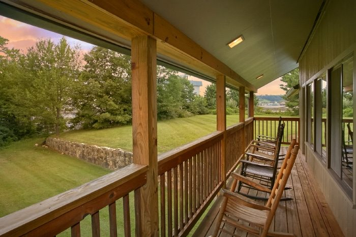 6 bedroom cabin rental in the smoky mountains