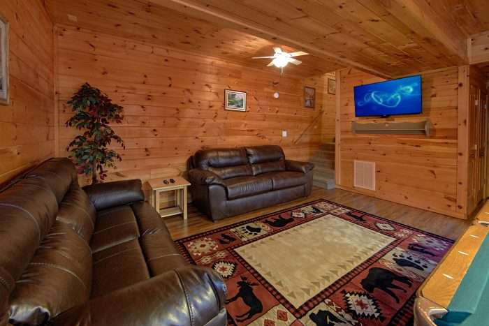 Cabin with Open Floor Plan - Lil Cajun Cabin
