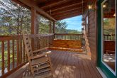 oversize 2 bedroom cabin with resort pool