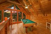 Cabin with Pool Table