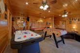 Cabin with Air Hockey, Pool Table and Game Room