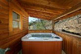 Cabin with Hot Tub on Back Deck