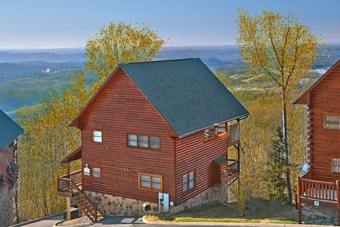 Starr crest resort cabin rental near dollywood in pigeon for Gatlinburg dollywood cabins