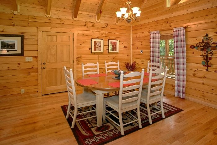 Luxury Cabin Dining Room