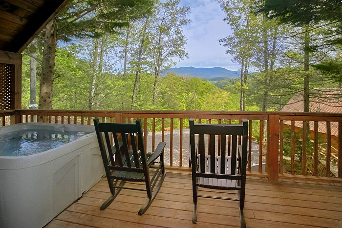 Lucky to be with View Cabin Rental Photo