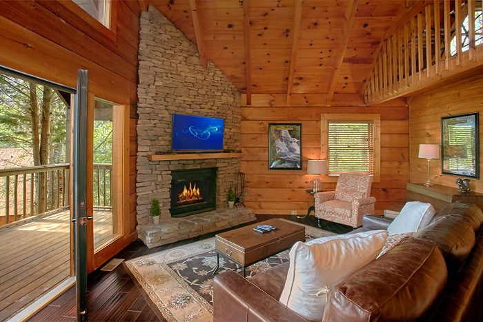 2 Bedroom Cabin with Luxurious furnishings - Lucky to be with View