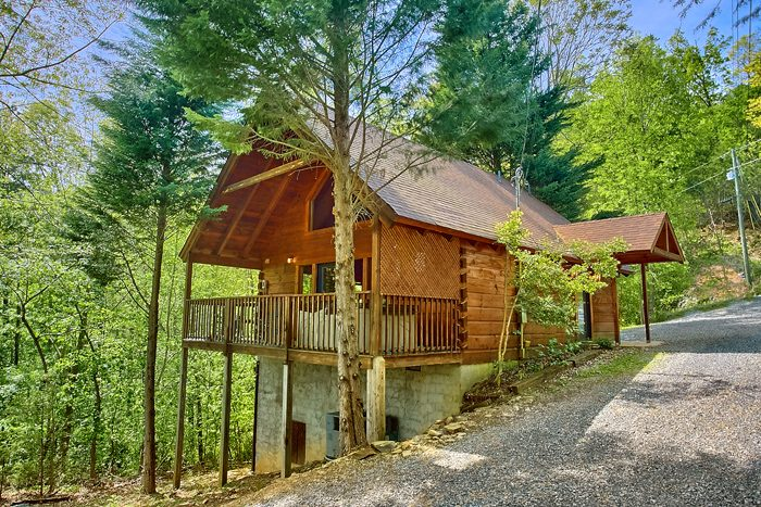 2 Bedroom cabin with Views of the Smokies - Lucky to be with View