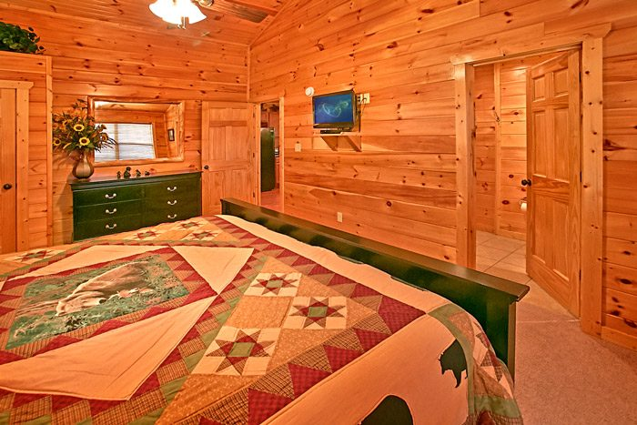Spacious King Bedroom in the Smokies - Made in the Shade