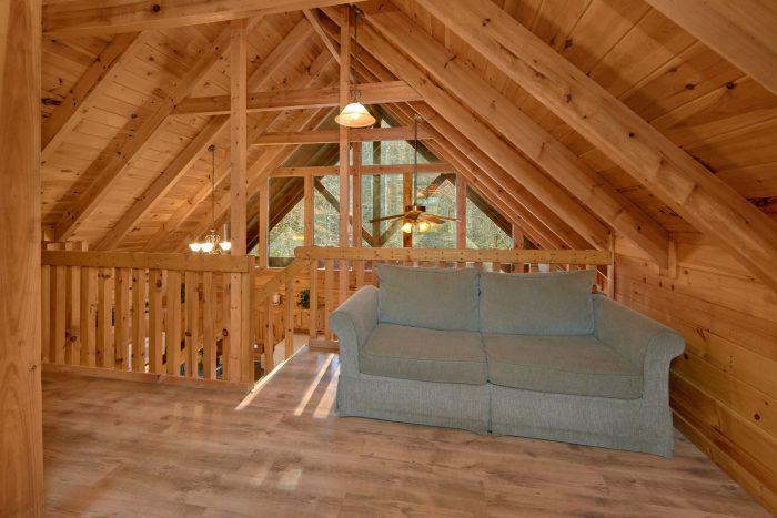 2 Bedroom 2 Bath Cabin Sleeps 8 - Making More Memories