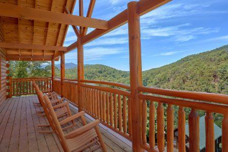 The Majestic: 8 Bedroom Gatlinburg Cabin Rental