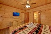 8 Bedroom Cabin with a TV in every room
