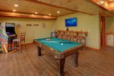 8 Bedroom Cabin with a Billiards Table