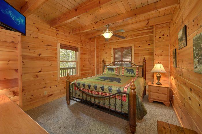 3 bedroom cabin with private queen bedroom - Memory Maker
