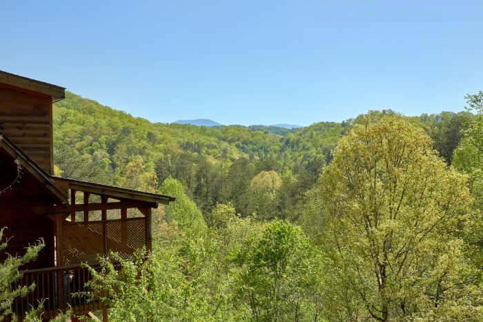 Premium 3 bedroom cabin with mountain views - Memory Maker