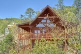 Premium 3 bedroom cabin with Views from deck