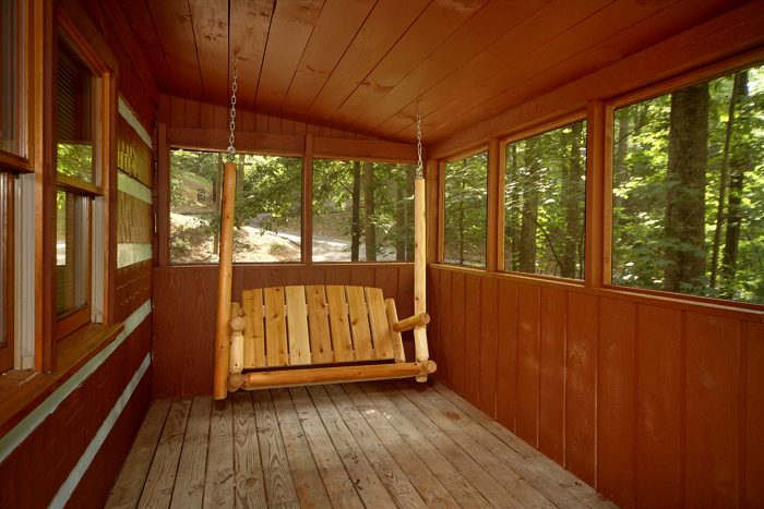 Rustic 1 Bedroom with a Porch Swing - Mi Cabana