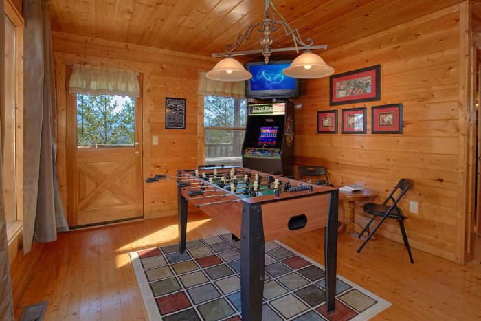 Game Room Foosball & Door to Deck - Moonglow