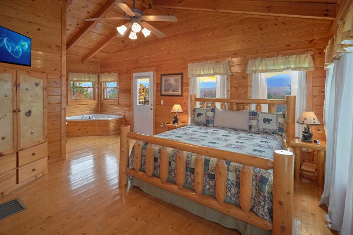 2 bedroom cabin near dollywood cabins usa gatlinburg for Gatlinburg dollywood cabins