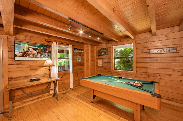 Pigeon Forge Cabin with Charcoal Grill - Moose Lake Lodge