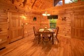 Honeymoon Cabin with Dining Area and View