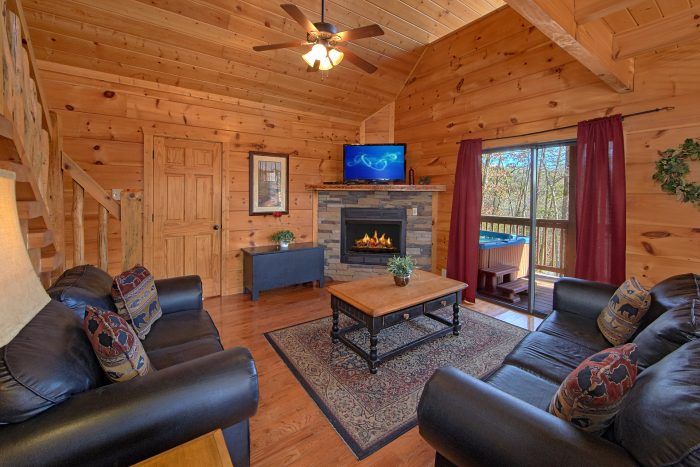 3 Bedroom Cabin Sleeps 9 in Pigeon Forge - Morning Mist