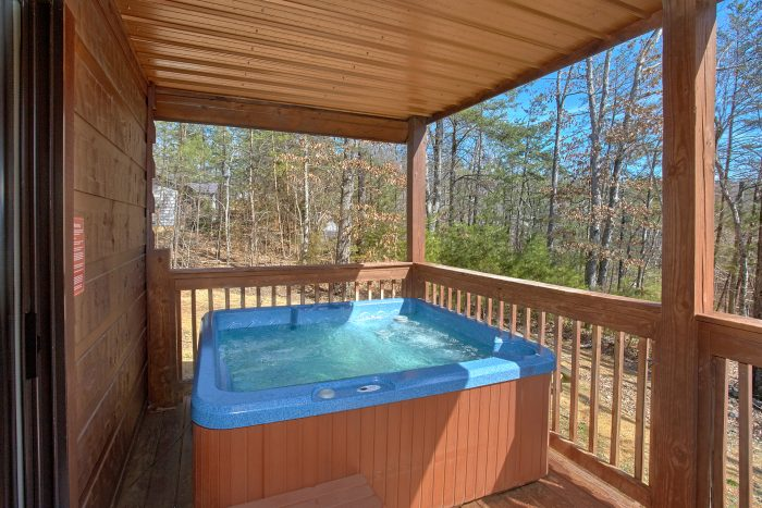 3 Bedroom with Private Hot Tub - Morning Mist