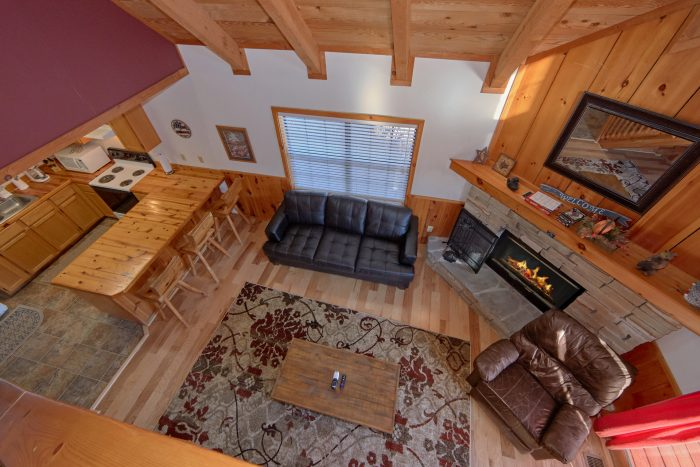 1 Bedroom Cabin with Fully Equipped Kitchen - Mountain Hideaway