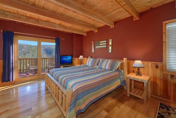1 Bedroom Cabins With Main floor Master Suite - Mountain Hideaway