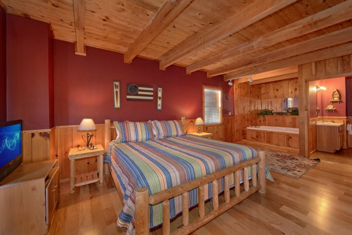 Pool Table 1 Bedroom Cabin Sleeps 6 - Mountain Hideaway