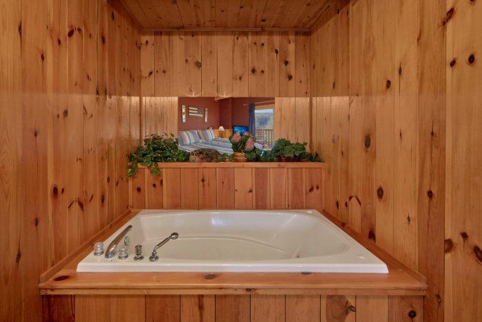 1 Bedroom with Extra Open Loft Bedroom - Mountain Hideaway