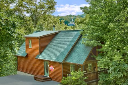 Another Day In Paradise: 1 Bedroom Sevierville Cabin Rental