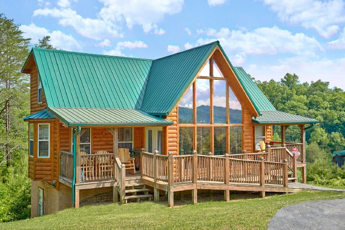 4 bedroom cabin in smoky mountains sleeps 10 mountain - 4 bedroom cabins in gatlinburg tn ...
