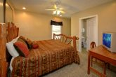 4 Bedroom Cabin with King Bed and Private Bath