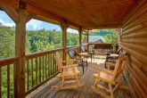 4 Bedroom Cabin with Covered Porch and Rockers