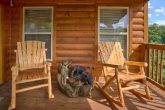 4 Bedroom Cabin with 3 Decks and Rocking Chairs