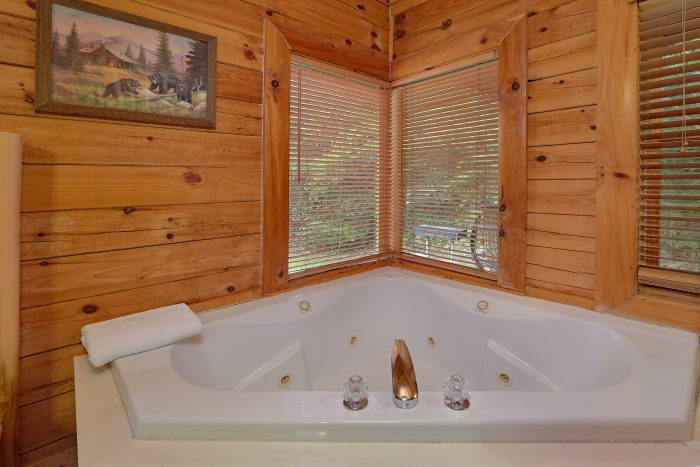 3 Bedroom Cabin with 2 Private Jacuzzi Tubs - Mountain Valley Dreams