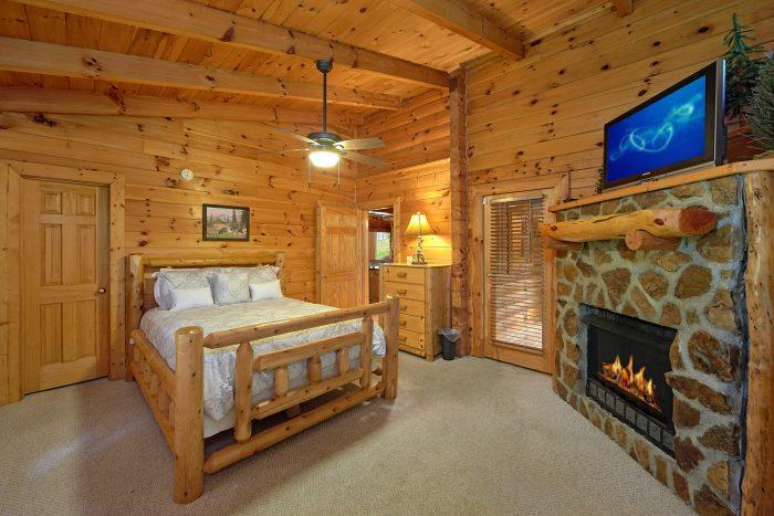 3 Bedroom Cabin with 2 Queen Beds - Mountain Valley Dreams