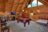 3 Bedroom Cabin with a Pool Table