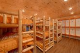 8 Bedroom Cabin with a Bunk Bed Locker Room