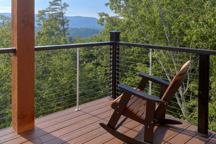 8 Bedroom Pool Cabin with Outdoor Seating - Mountain View Pool Lodge