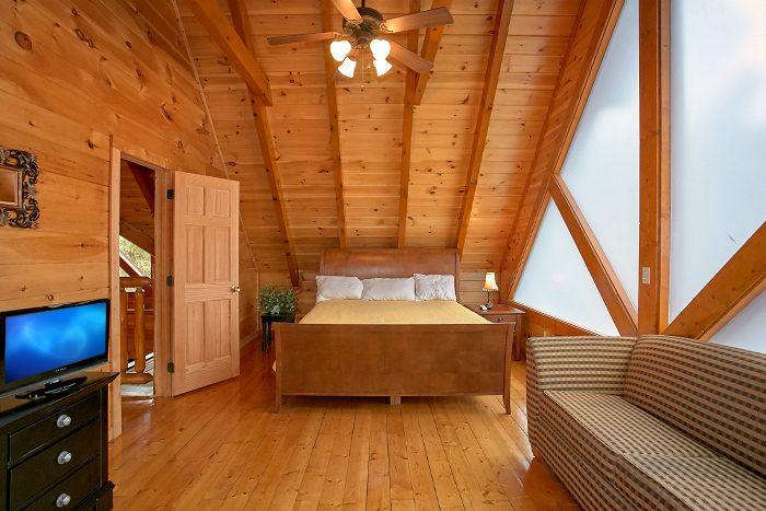 8 Bedroom Cabin Sleeps 24 with Sofa Sleepers - Grand Theater Lodge